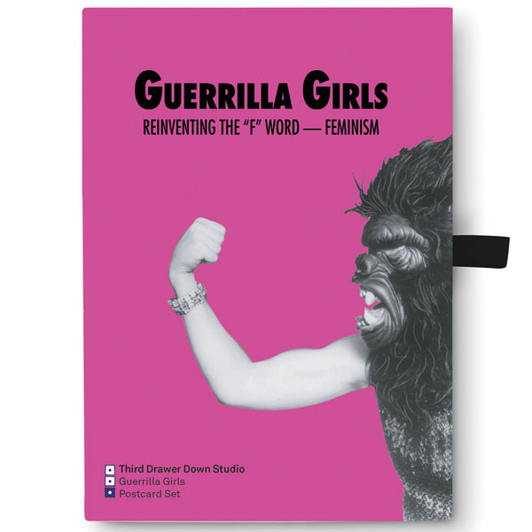 Guerrilla Girls Postcard Box Set Gift Box Front