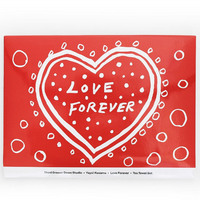 Yayoi Kusama Love Forever Tea Towel Set of 2 Gift Packaged