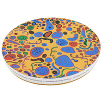 Yayoi Kusama Love Was Infinitely Shining Ceramic Plate Gift Box