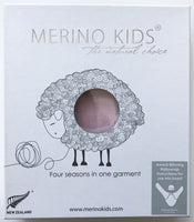 merino kids babywrap packaging front of box