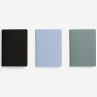 The School Of Life Minimalist Notebooks Set of 3 Line Up