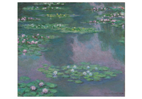 Pomegranate Monet Water Lilies Notecard Folio Dusk Card