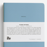 The School Of Life Pessimist notebook set of three cover