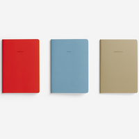 The School Of Life Pessimist notebook set of three line up
