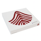 Louise Bourgeois Red Curve Bone China Plate Gift Box