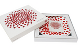 Louise Bourgeois Red Dot Bone China Plate Gift Box Package