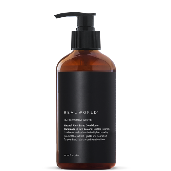 Real World Lime Blossom & Kiwi Seed Conditioner 220ml