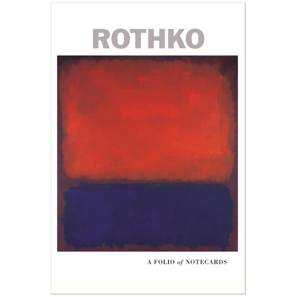 Pomegranate Rothko Notecard Folio Giftbox
