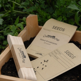 Creamore Mill Wooden Seed Labels Pack of 20 with Seed Envelopes