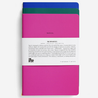 The School Of Life Pop Art Notebooks Set of 3