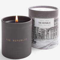The School of Life The Republic Utopia Scented Candle in Ceramic Jar