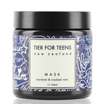 Tier for Teens Face Mask of Burdock & Crushed Rose