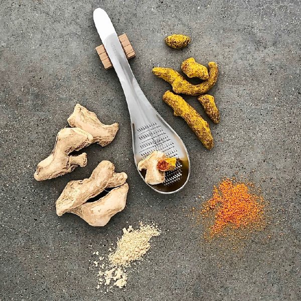 Premium Sun Dried Ginger & Tumeric with Grater | Rivsalt