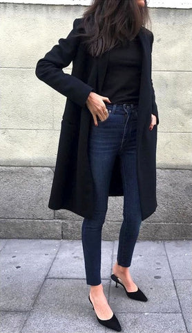 The Smart Casual Layering-When in Doubt, Wear Black