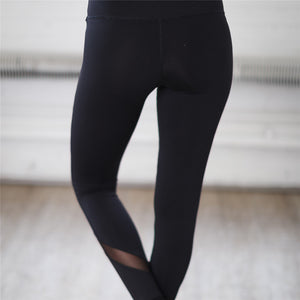 High Performance Workout Leggings, Black