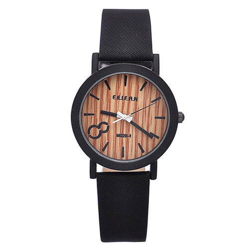 Select your shade of vintage strap to pair with this distinguished Men's/Women's Quartz Wooden Watch.