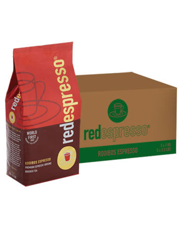 Red Espresso - Ground Rooibos Tea - 5 Kg - Red Espresso USA