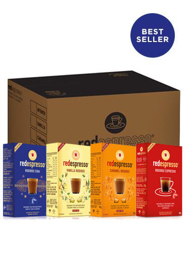 Red Espresso - The Tea Collection Mixed Case - Nespresso Compatible - Red Espresso USA