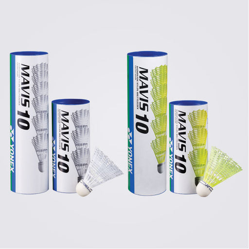 Shuttlecock - Yonex - MAVIS 10 White - Single Tube