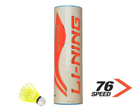 Nylon Birdies - Badminton Shuttles Tube