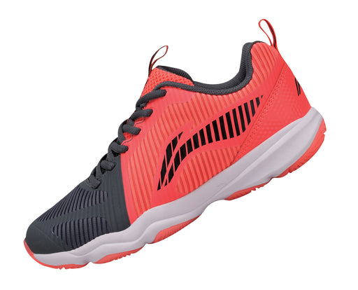 Women's Badminton Shoes - AYTN062-2 - Red & Black