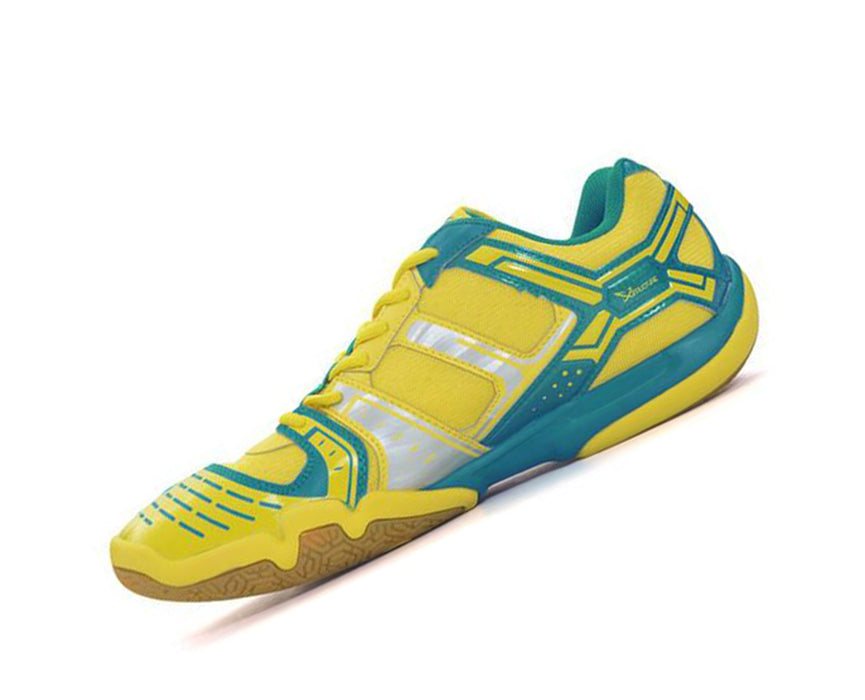 Men's Badminton Shoes - AYTM085-3 - Yellow & Blue