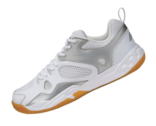 Women's Badminton Shoes - AYTM038-3 - White & Grey