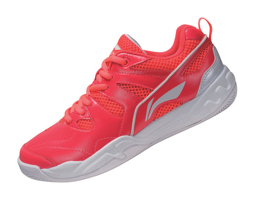 Women's Badminton Shoes - AYTM068-3 - Red & White