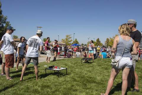 Colorado-Rapids-Fans-Tailgating-And-Playing-Yard-Game-Corkaine-During-2018-Season