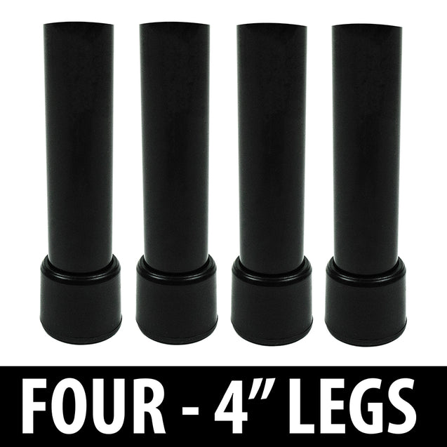 "4"" Inch Legs - Set of 4 Legs For Your Corkaine Yard Game Set - OPTIONAL - Corkaine by Birdwig LLC"