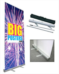 Retractable Banner Stand with Graphic