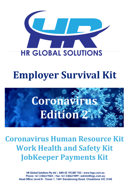 Employer Survival Kit Coronavirus Edition 2