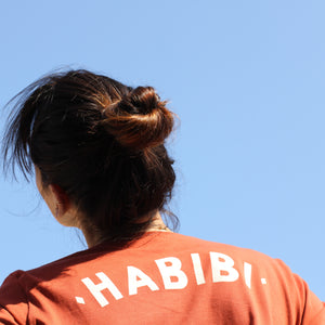 HABIBI means MY LOVE | Women's T-shirt | Terracotta