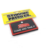 Come and Take It Red Stapler Morale Patch