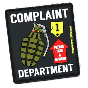 Complaint Department Morale Patch
