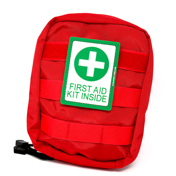 First Aid Kit Inside PVC Patch