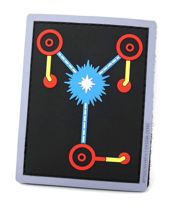 Flux Capacitor Morale Patch