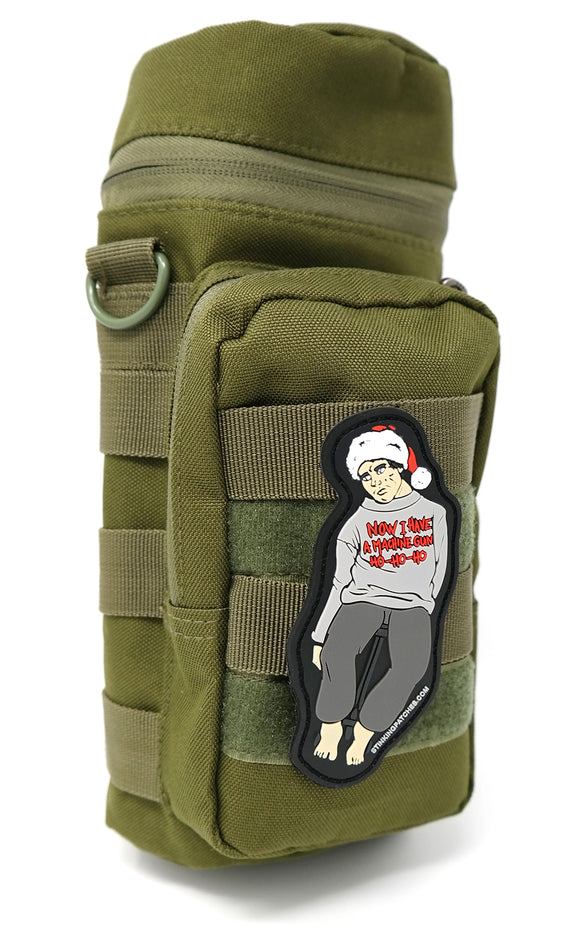 Now I Have A Machine Gun - Ho Ho Ho PVC Patch