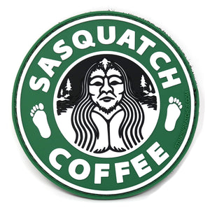 Sasquatch Coffee Morale Patch