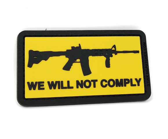 We Will Not Comply Morale Patch