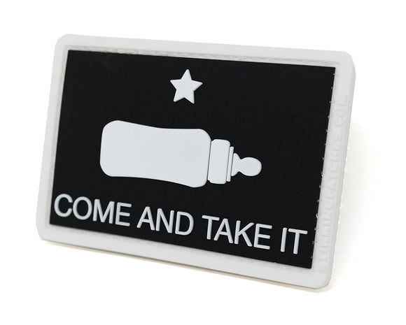 Come and Take It Baby Bottle Tactical Patch