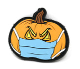 Jack o' Lantern Morale Patch with Face Mask