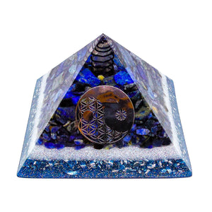Harmonic Star Resonator - Orgone Transmuter Pyramid (Ajna) - Star Gate