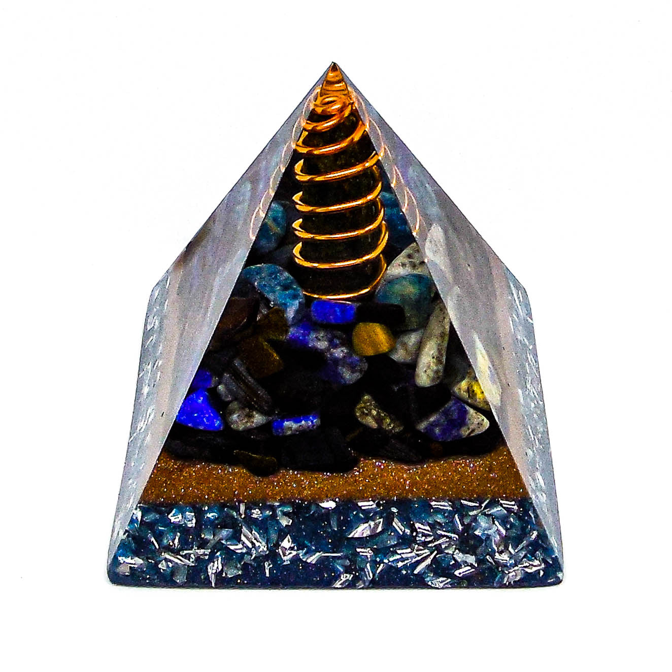 Harmonic Star Resonator - Orgone Transmuter Pyramid (Eye Of Tibet) - Star Gate