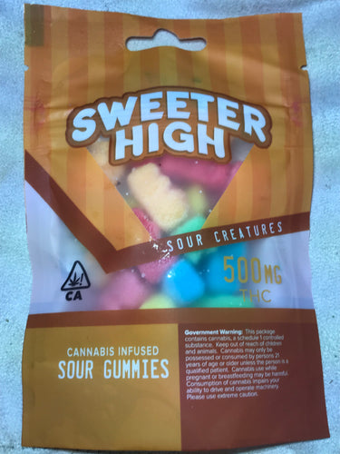 Sour Creatures from Sweeter High