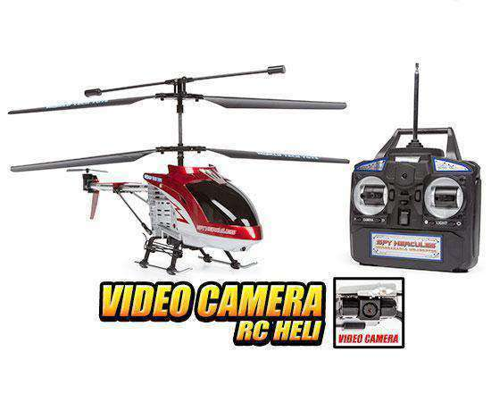 Camera RC Helicopters