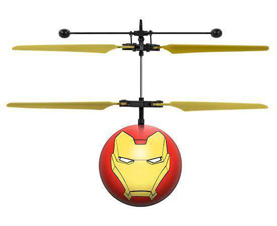 Marvel Licensed Avengers Iron Man IR UFO Heli Ball