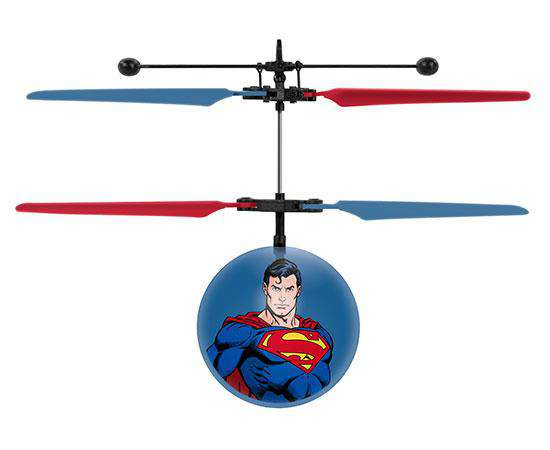 DC Justice League Superman IR UFO Ball Helicopter