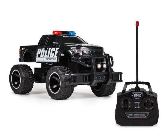Ford F 150 Police 1 14 Rtr Electric Rc Monster Truck World Tech Toys
