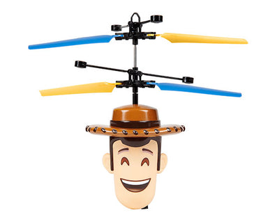 Disney Toy Story Woody Flying IR UFO Motion Sensing Helicopter